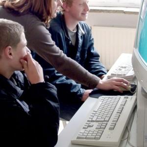 Ausbildung am Computer