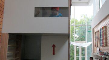 Einweihung des Kletterturms in Halle
