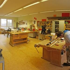 Werkstatt im VHS-Bildungswerk in Artern