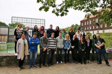 Die Teilnehmer der Seminarwoche im Kloster Volkenroda