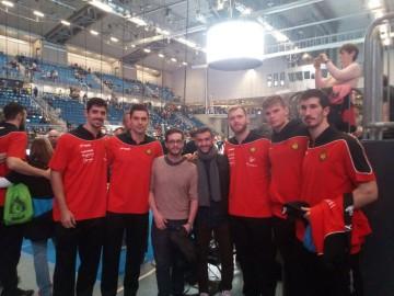 Mobi Pro-Schüler treffen Handballhelden in Magdeburg