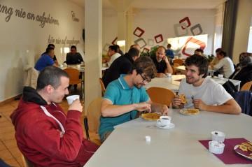 Internationales Flair beim Willkommens-Café