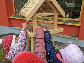 Neue Vogelhäuser für Nordhäuser Kindertagesstätten