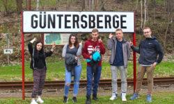 Medienseminar mit FSJ-Jugendlichen in Güntersberge