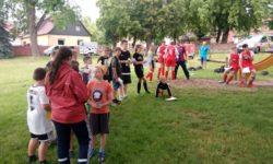 Unterstützung beim Fußballturnier in Schackenthal