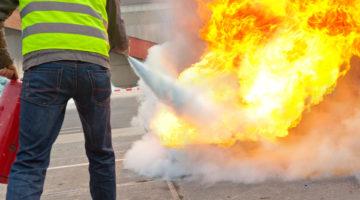 Brandschutzhelfer-Ausbildung - Unternehmen und Beschäftigte schützen