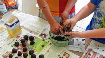 Kinder lernen Gartenberufe kennen