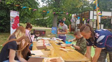 Kunstkoffer zu Gast auf den KinderKulturTagen in Magdeburg