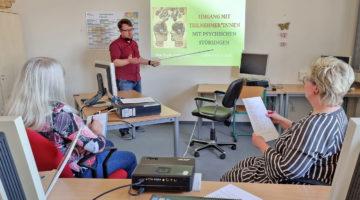 Aktives Weiterbildungs-Treiben in Aschersleben
