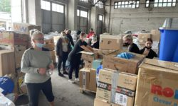 Pflegeschüler*innen in Gotha helfen den Flutopfern